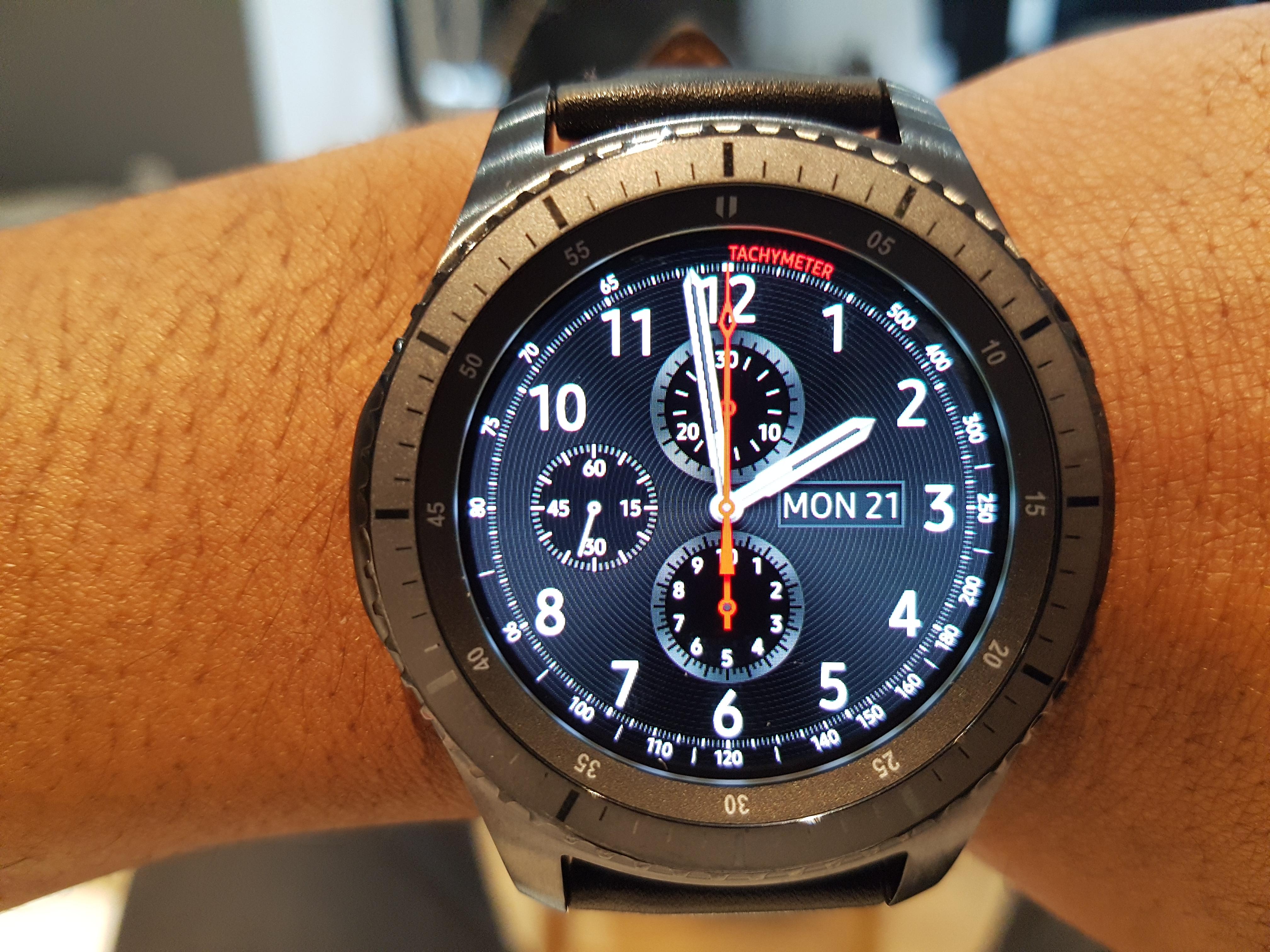 Samsung Gear S3 Frontier La Meilleure Montre Gps: Test Samsung Gear S3 Frontier